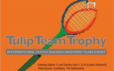 Tulip Team Trophy bij Meersquash
