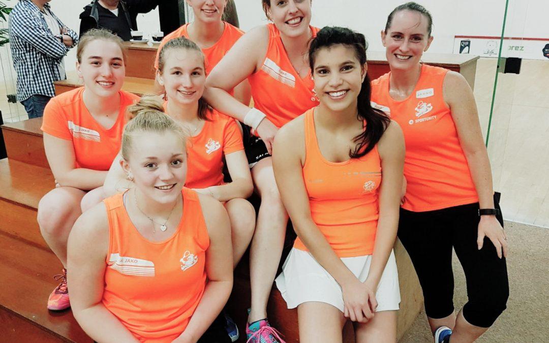 Squash Almere wenst de Oranje teams een succesvol EK