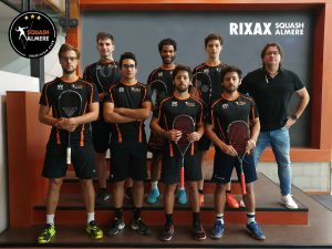 RIXAX Squash Almere team foto 2019-2020
